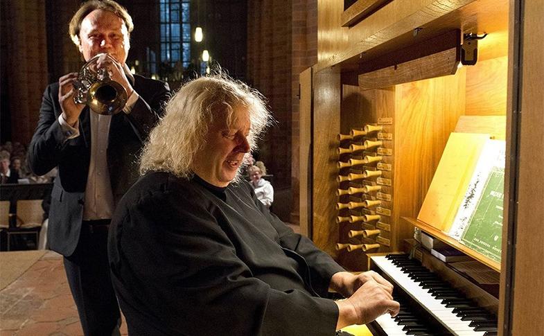 Ein festliches Konzert für Trompete und Orgel mit Daniel Schmahl und Matthias Eisenberg