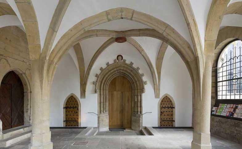 ie Heilige Pforte des Bistums Hildesheim im Heiligen Jahr der Barmherzigkeit.