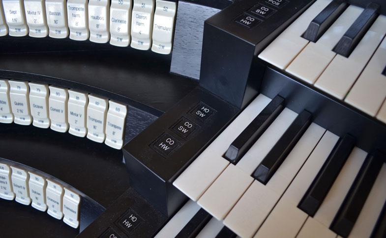 Orgel im Hildesheimer Dom