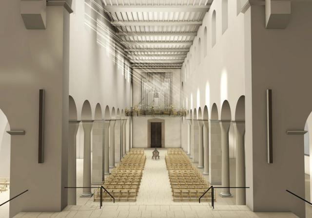 Das Architektur-Konzept für den Dom Hildesheim.