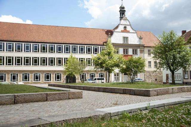 Der Hildesheimer Domhof wurde saniert.