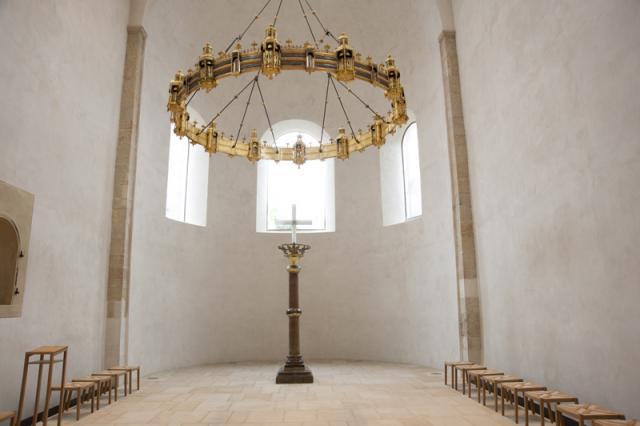 Die Irmensäule im Hildesheimer Dom.