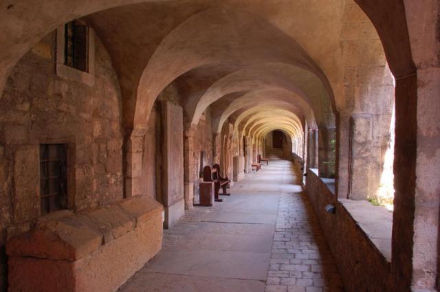 Der Kreuzgang des Hildesheimer Doms