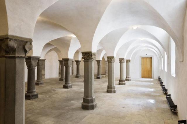 Die Sakramentskapelle, bekannt auch als Laurentiuskapelle, im Hildesheimer Dom.