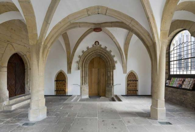 Die Heilige Pforte des Bistums Hildesheim im Heiligen Jahr der Barmherzigkeit.