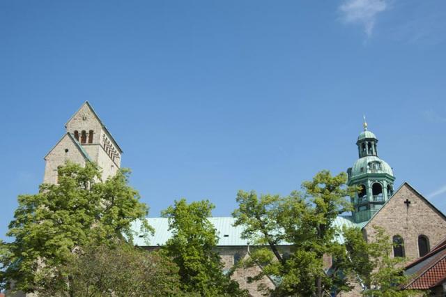 Mit ihren Spenden unterstützen Sie den Hildesheimer Dom.