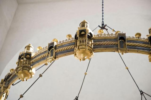 Der Thietmarleuchter (Azelinleuchter) im Hildesheimer Dom.